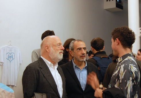 Han Nefkens junto a Juan David Galindo